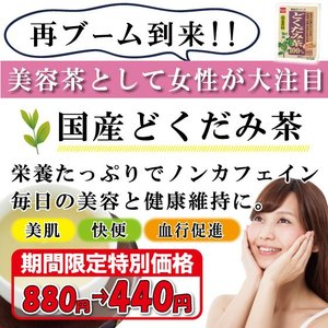 どくだみ茶 日本産 どくだみ100% ノンカフェイン 健康 美容|39genki1