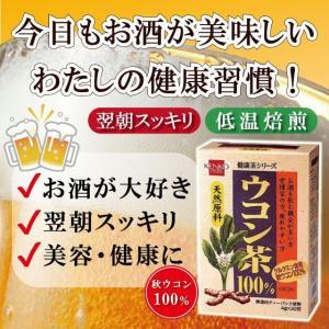 ウコン茶100% 秋ウコン クルクミン 肝機能を高める 二日酔い 予防 美肌 美容 健康 健康茶 健康食品|39genki1