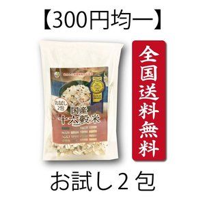 送料無料 300円均一 お試し 国産十六穀米 雑穀米 簡単 ビタミン ミネラル 食物繊維 美容 ダイエット 健康食 スティックタイプ ポイント消化|39genki1