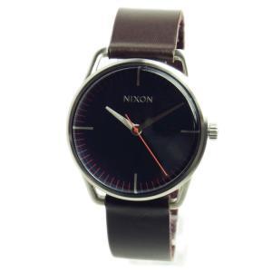 NIXON ニクソン 腕時計 ユニセックス THE MELLOR メラー ネイビー/ブラウン A129879 A129-879  02P12Oct15|39surprise