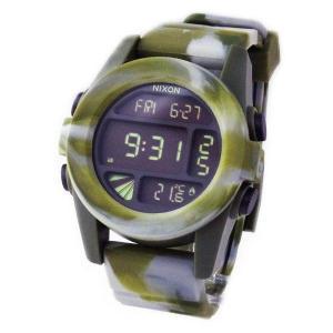 NIXON ニクソン メンズ腕時計 THE UNIT ユニット マーブルカモ デジタルウォッチ メンズウォッチ 男性用 A1971727 A197-1727|39surprise