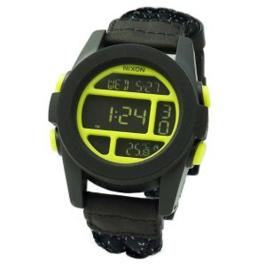 NIXON ニクソン メンズ腕時計 THE UNIT ユニット ブラック/リフレクティブウーベン デジタルウォッチ メンズウォッチ 男性用 A1971941 A197-1941|39surprise