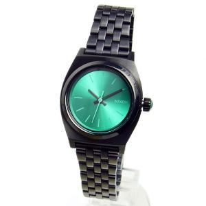 NIXON ニクソン レディース腕時計 Small Time Teller スモールタイムテラー ガンメタル/ライトブルー レディースウォッチ 女性用 A3991697 A399-1697|39surprise