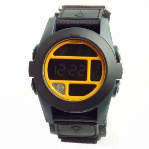NIXON ニクソン メンズ腕時計 BAJA バハ ブラック/スティールブルー/ネオンオレンジ A489-1323 A4891323 メンズウォッチ 男性用  02P12Oct15|39surprise