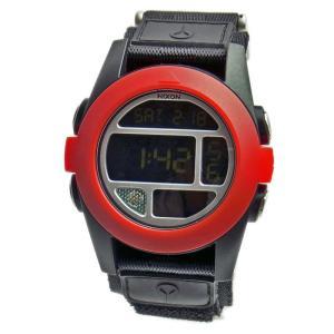 NIXON ニクソン メンズ腕時計 BAJA バハ ブラック×レッド A489-760 A489760 メンズウォッチ 男性用  02P12Oct15|39surprise