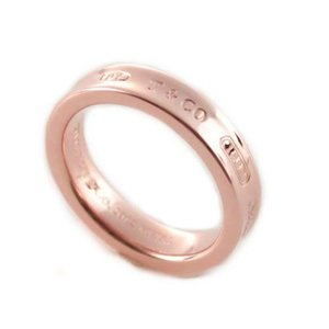TIFFANY&CO. ティファニー 1837 ナローリング 指輪 RUBEDO ルベドメタル 39surprise