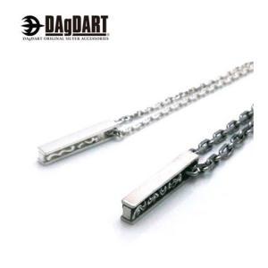 DAgDART ダグダート スティック型 トライバルデザイン ペアペンダント ペアネックレス シルバー DT-108-109|39surprise