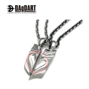 DAgDART ダグダート [Love proof] ハートが浮かび上がる ペアペンダント ペアネックレス シルバー DT-193-194|39surprise