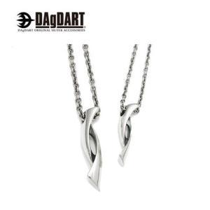 DAgDART ダグダート シンプルデザイン ペアペンダント ペアネックレス シルバー DT-280-281|39surprise