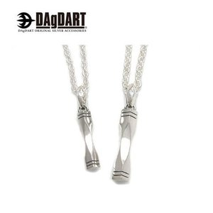 DAgDART ダグダート [Glass] 誕生石交換対応!シンプル ペアペンダント ペアネックレス シルバー DT-346-347|39surprise
