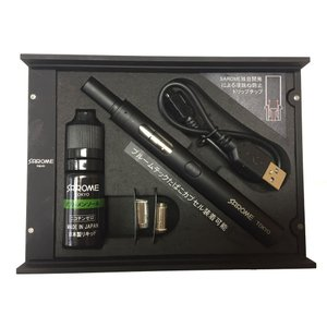 SAROME サロメ 電子タバコ VAPE-1 STARTER KIT BK&W ベイプ スターターキット ブラック (プルームテック対応) (ギフト/プレゼント/喫煙具) 39surprise
