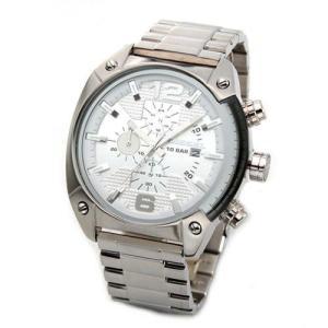 DIESEL ディーゼル メンズ腕時計 クールなデカ系・メンズ・クロノグラフ・ブレスウオッチ DZ4203 39surprise