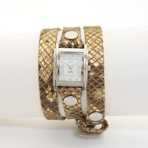 LA MER COLLECTIONS ラメール コレクション レディース腕時計 3ラップブレスレット LMSTW6000|39surprise