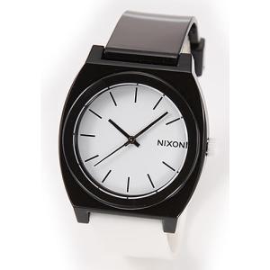 NIXON ニクソン 腕時計 メンズ レディース THE TIME TELLER P タイムテラー ブラック×ホワイト A119-005 A119005|39surprise
