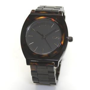 NIXON ニクソン 腕時計 メンズ レディース THE TIME TELLER タイムテラーアセテート ダークトートイズ A327-1061 A3271061|39surprise