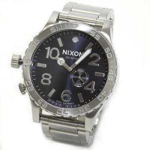 NIXON ニクソン 腕時計 メンズ THE 51-30 TIDE タイド ブルーサンレイ メタリックネイビー A0571258 A057-1258|39surprise
