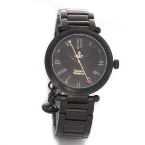Vivienne Westwood ヴィヴィアンウエストウッド レディース腕時計 オーブチャーム ディアマンテハート インデックス VV006BK|39surprise