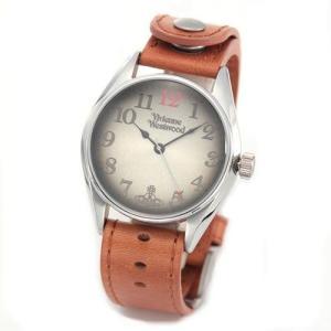 Vivienne Westwood ヴィヴィアンウエストウッド メンズ腕時計 HERITAGE ヘリテージ アンティークデザイン ブラウンレザーベルト VV012TN|39surprise