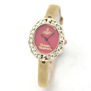 Vivienne Westwood ヴィヴィアンウエストウッド レディース腕時計 オーブモチーフ レザーストラップ ウオッチ VV005RDYL|39surprise