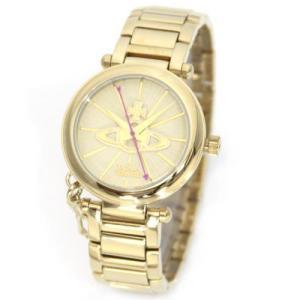 Vivienne Westwood ヴィヴィアンウエストウッド レディース腕時計 キーチャーム 3Dオーブインデックス レディスブレスウオッチ VV006KGD|39surprise