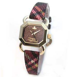 Vivienne Westwood ヴィヴィアンウエストウッド レディース腕時計 ヴィヴィアンチェック ストラップ ウオッチ VV085BKBR|39surprise