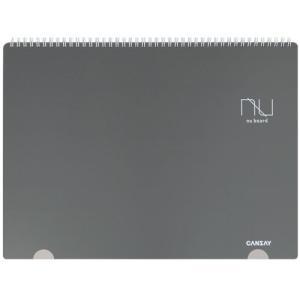 【欧文印刷株式会社】 CANSAY NUboard ヌーボード(ノート型ホワイトボード)A3判変型|3chome-market