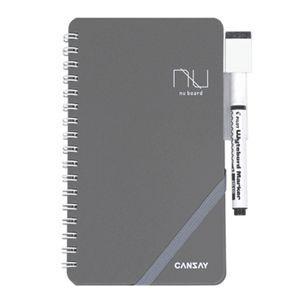 【欧文印刷株式会社】 CANSAY NUboard ヌーボード(ノート型ホワイトボード)新書判|3chome-market