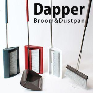 【tidy/ティディ】 Dapper ダッパー(掃除用品/ホウキ&チリトリ) 3chome-market