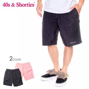 【ワイワイSALE】 40S & SHORTIES フォーティーズ & ショーティーズ ショーツ メンズ CORE SHORTS 2019春夏|3direct