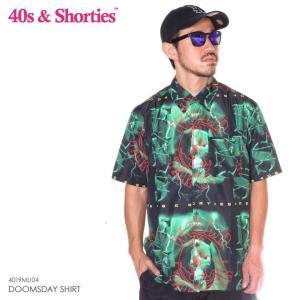 40S & SHORTIES フォーティーズ & ショーティーズ シャツ メンズ DOOMSDAY SHIRT 2019春夏|3direct