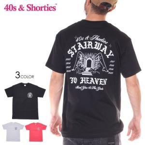 SALE セール 40S & SHORTIES フォーティーズ & ショーティーズ Tシャツ メンズ STAIRWAY TEE|3direct