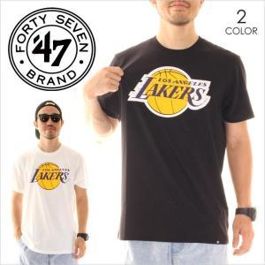 Tシャツ メンズ 47 BRAND LA Lakers '47 CLUB TEE - CLUB12 フォーティーセブン ブランド 47ブランド レイカース|3direct