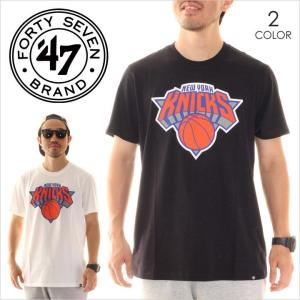 Tシャツ メンズ 47 BRAND NY Knicks '47 CLUB TEE - CLUB14 フォーティーセブン ブランド 47ブランド ニックス|3direct