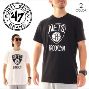 Tシャツ メンズ 47 BRAND Brooklyn Nets '47 CLUB TEE - CLUB15 フォーティーセブン ブランド 47ブランド ブルックリン ネッツ|3direct