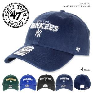 47 Brand キャップ メンズ YAKKER '47 CLEAN UP YKKERGWS 2018春 グリーン/ブルー/ブラック/ネイビー ワンサイズ|3direct