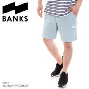 BANKS ハーフパンツ メンズ BIG BEAR WALKSHORT WS0069 2018夏 グリーン 32/34|3direct