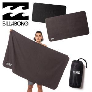 BILLABONG タオル メンズ A/DIV MICROFIBER TOWEL AI011-921 2018春 ブラック ワンサイズ|3direct