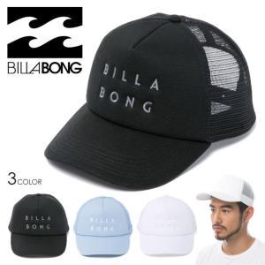 BILLABONG キャップ メンズ LOGO CAP AI011-934 2018春 ブラック/ブルー/ホワイト フリーサイズ|3direct