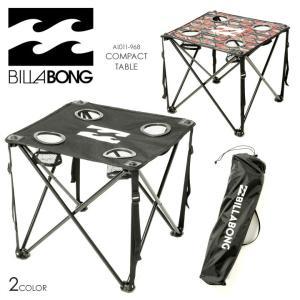 BILLABONG アウトドアテーブル メンズ COMPACT TABLE AI011-968 2018春夏 ブラック/マルチ ワンサイズ|3direct