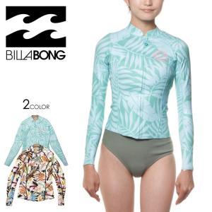BILLABONG ウェットスーツ レディース SURF CAPSULE PEEKY JACKET AI013-884 2018春夏 ブルー/マルチ M/L|3direct
