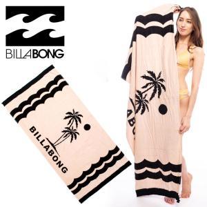 BILLABONG ビーチタオル レディース NEW WAVE LEGACY AI013-930 2018春 ブルー/ブラック/ピンク ワンサイズ|3direct
