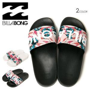 BILLABONG サンダル レディース COASTAL LUV AI013-956 2018春 ブラック/ホワイト 23.5cm/24.5cm/25.5cm|3direct