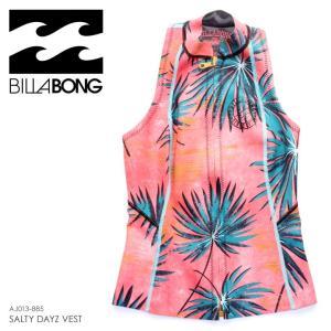 SALE セール BILLABONG ビラボン タッパー レディース SURF CAPSULE SALTY DAZE VEST イクウォーターベスト|3direct