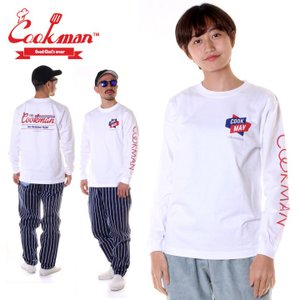 COOKMAN クックマン ロンT DELICIOUS NIGHT LS TEE 231-83113 2018秋冬 ホワイト M/L/XL|3direct
