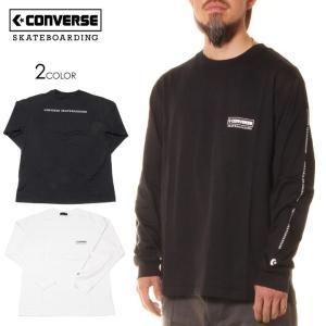 CONVERSE SKATEBOARDING コンバース Tシャツ ロンT メンズ LOGO L/S TSHIRTS 2020春夏|3direct