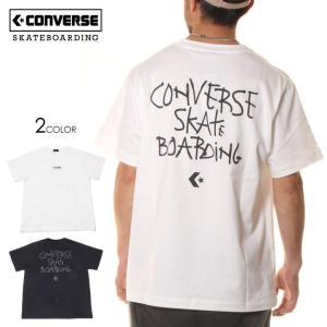 SALE セール CONVERSE SKATEBOARDING コンバース Tシャツ メンズ LOGO S/S TEE 2020春夏|3direct