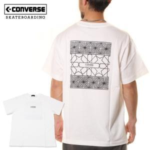 SALE セール CONVERSE コンバース スケートボーディング Tシャツ メンズ HAND LETTERING S/S TEE|3direct