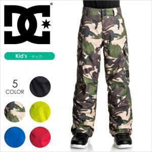 DC SHOES スノーパンツ キッズ BANSHEE YOUTH PANT EDBTP03006 17-18 ブルー/レッド/イエロー/ブラック 130/140/150|3direct