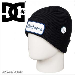 DC SHOES ビーニー メンズ NEESH EDYHA03055 17-18 ブラック/黒|3direct