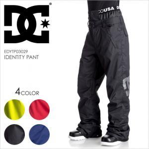 DC SHOES スノーパンツ メンズ IDENTITY PANT EDYTP03029 17-18 ブルー/イエロー/ブラック/レッド|3direct